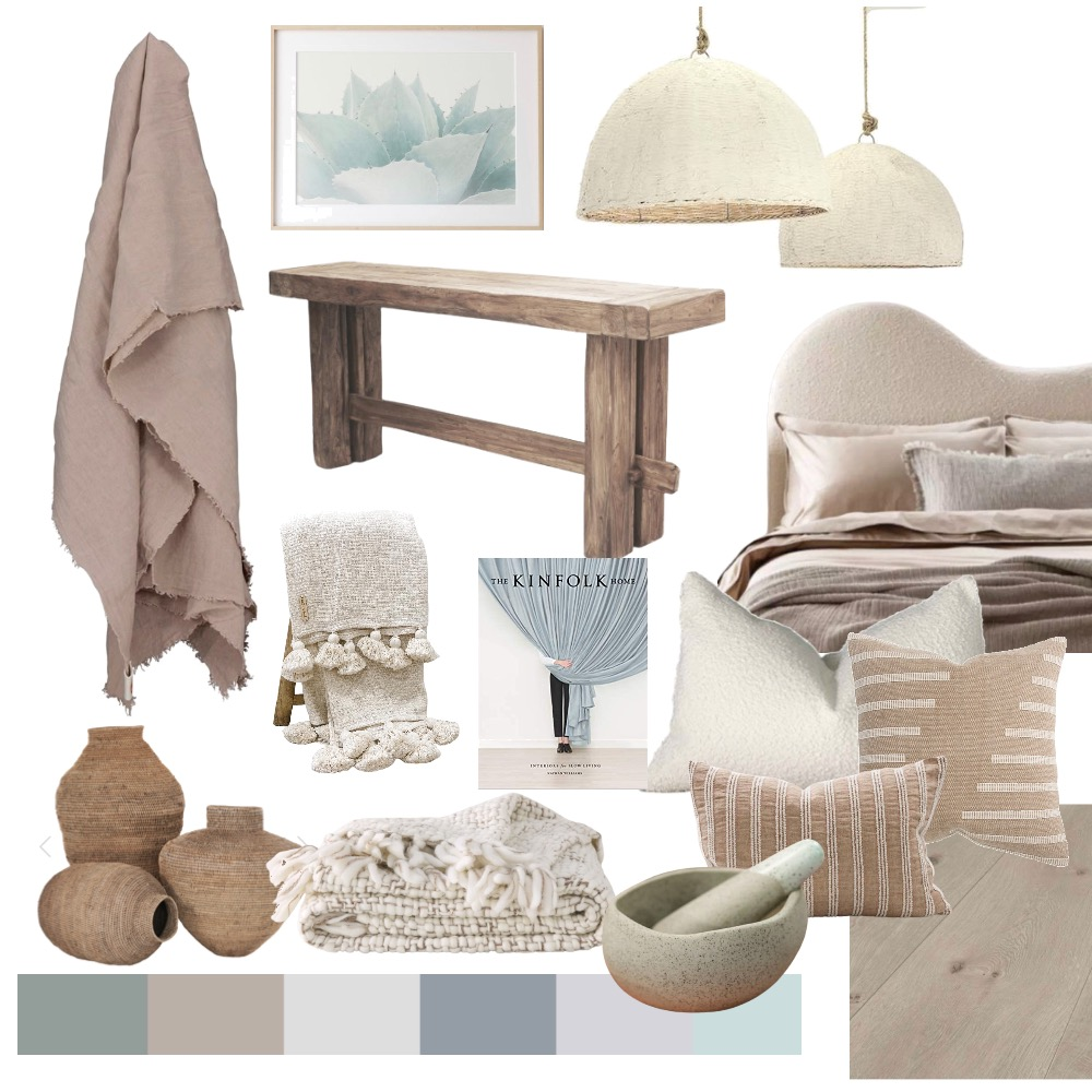 coastal style guide - oleander and finch mood board