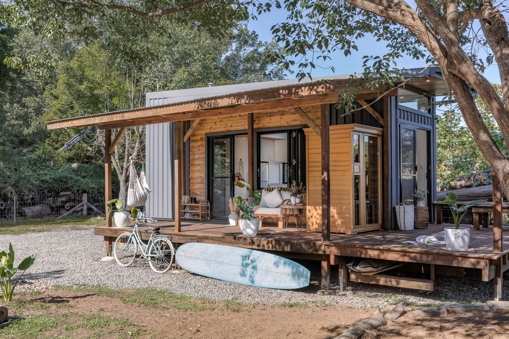 Tiny Houses Relaxed Lifestyle