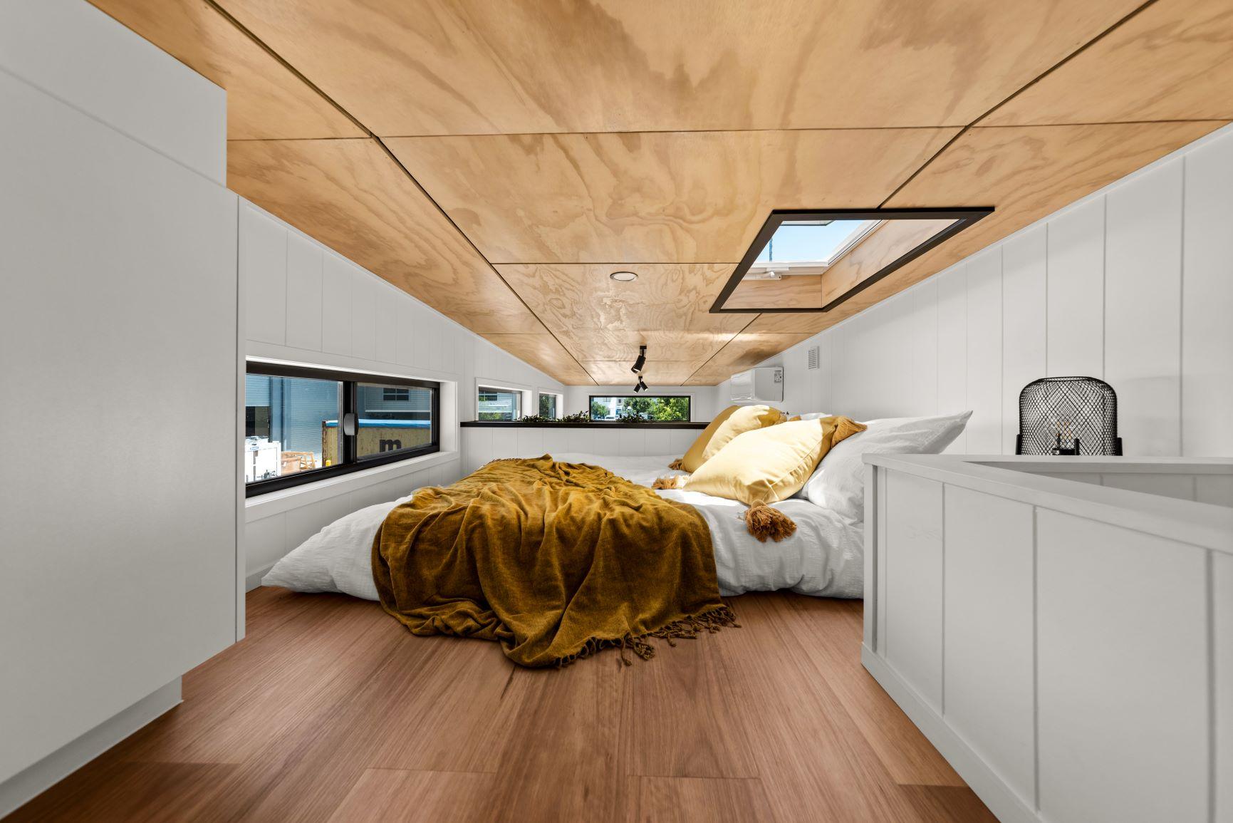 Tiny Houses Loft Bedroom