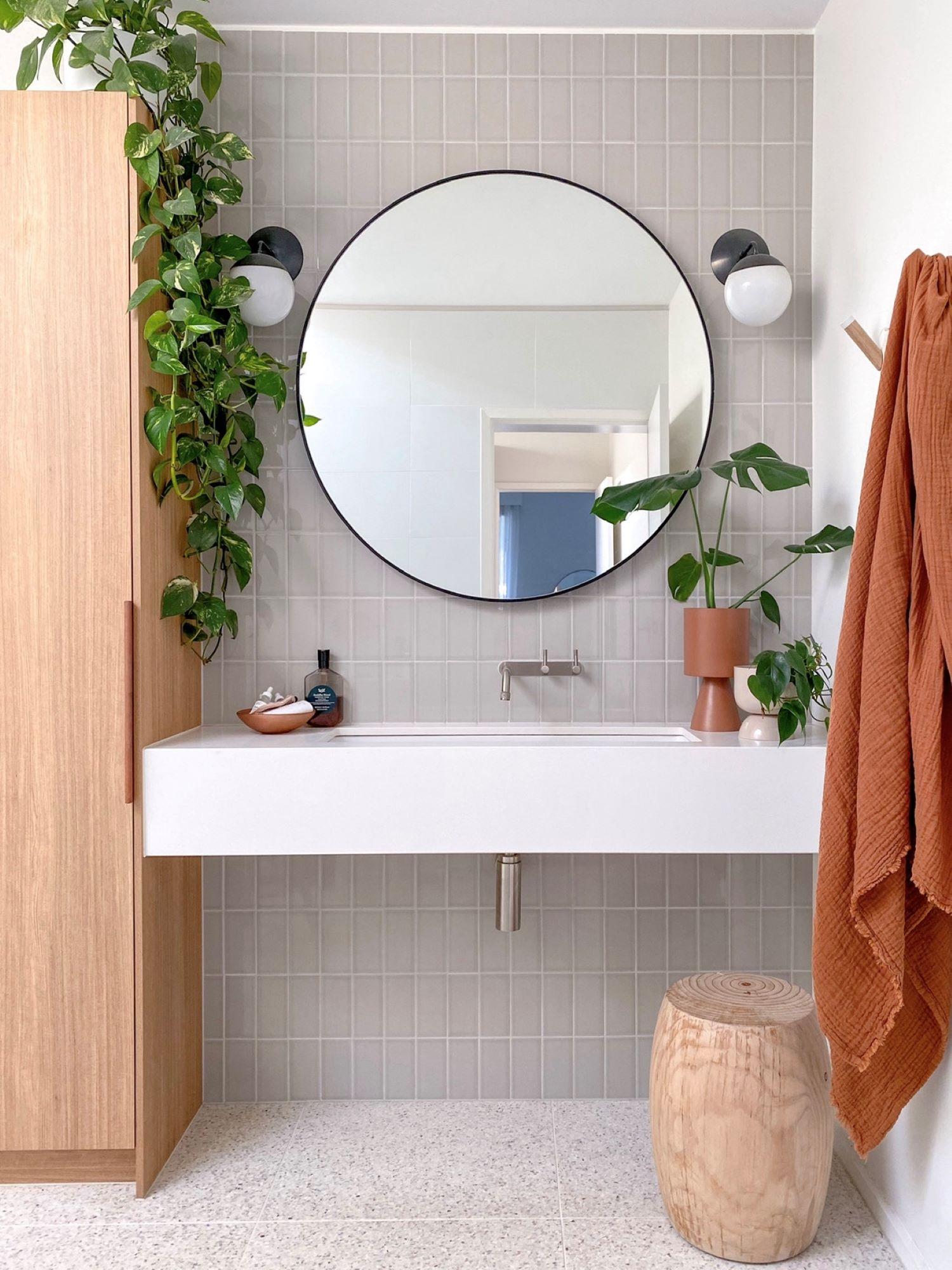 Interior designer Bettina Brent bathroom design