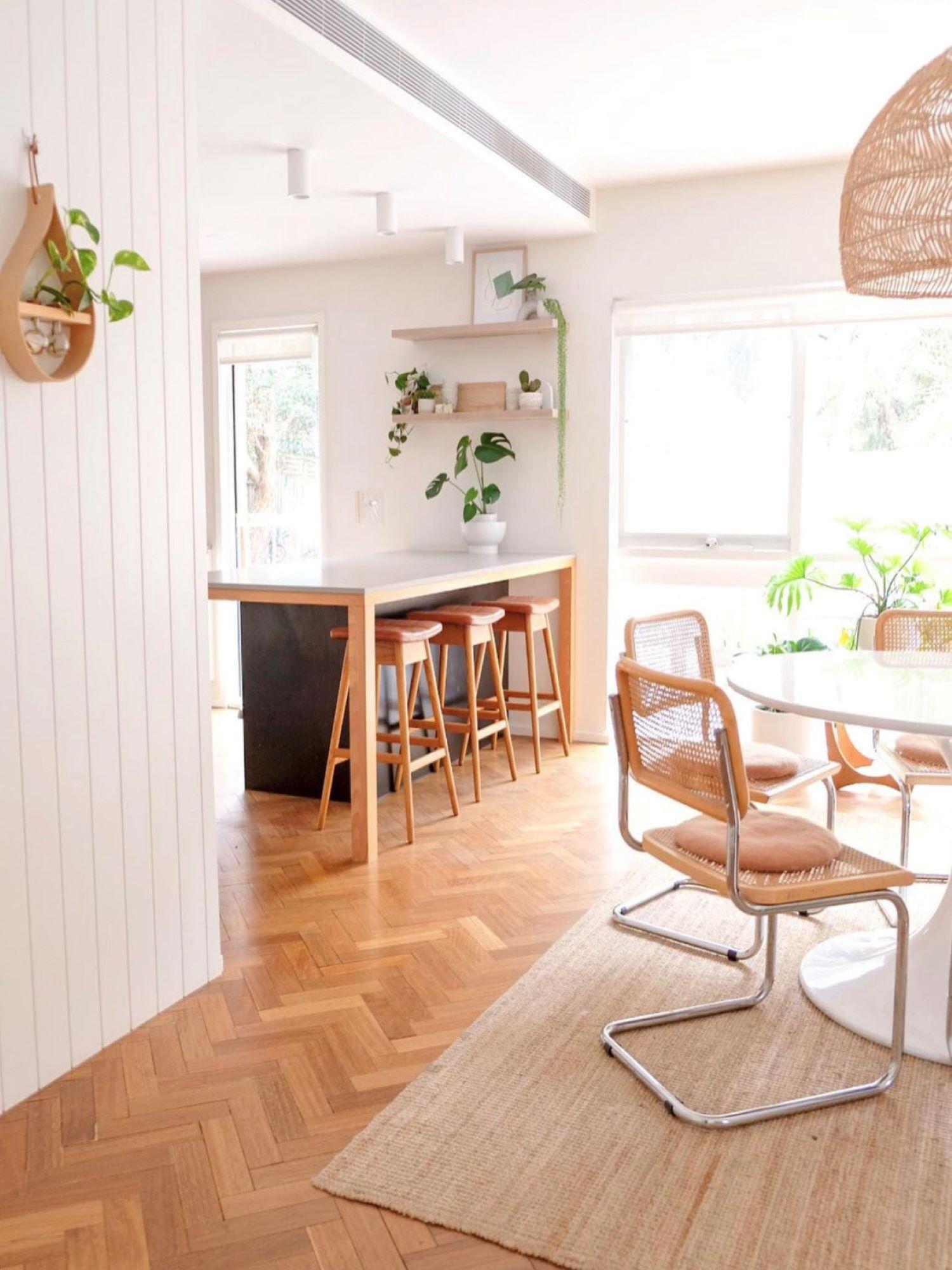 Interior designer Bettina Brent kitchen with island bench