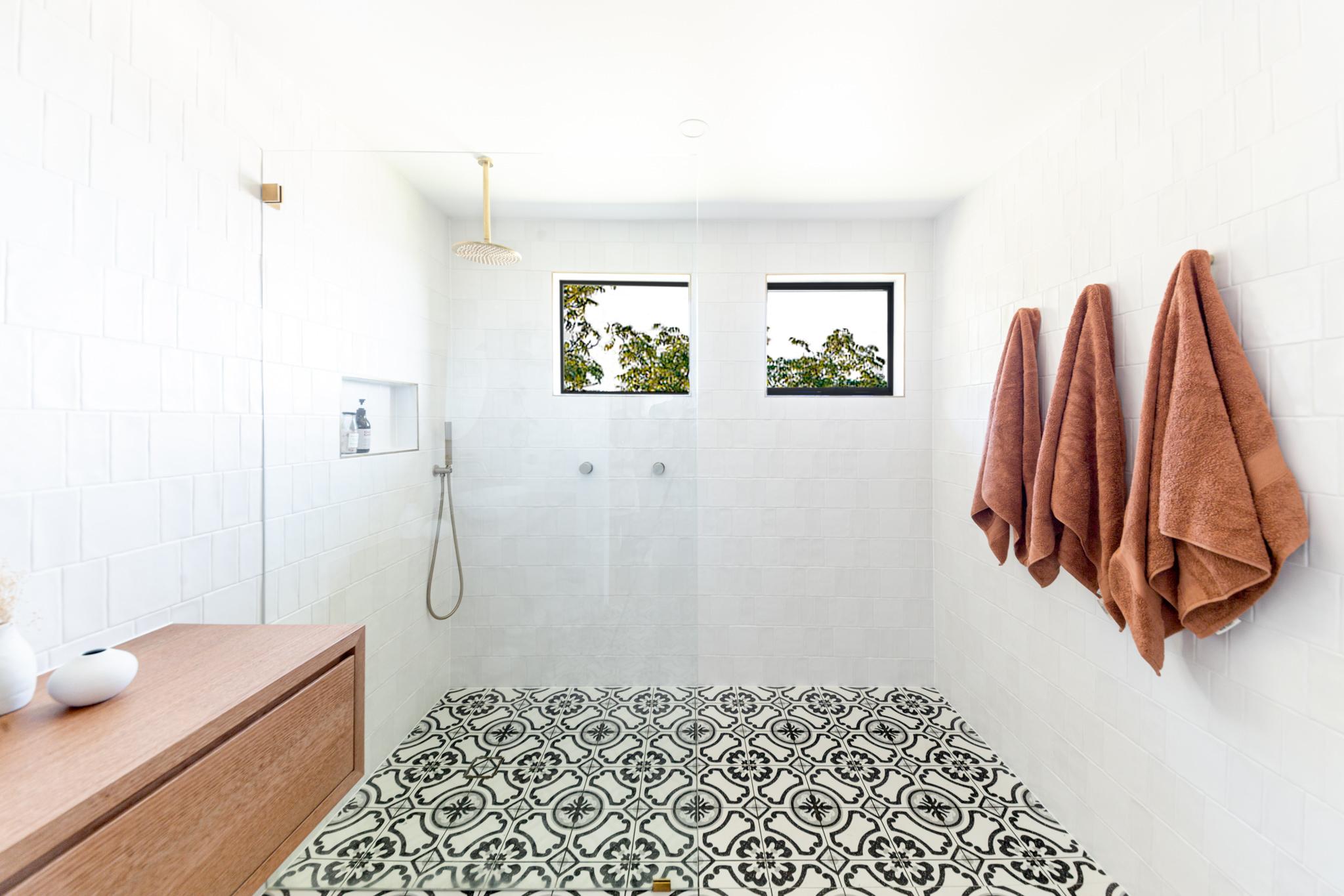 Bone + Blanc Bathroom Renovation - Classic Bathroom