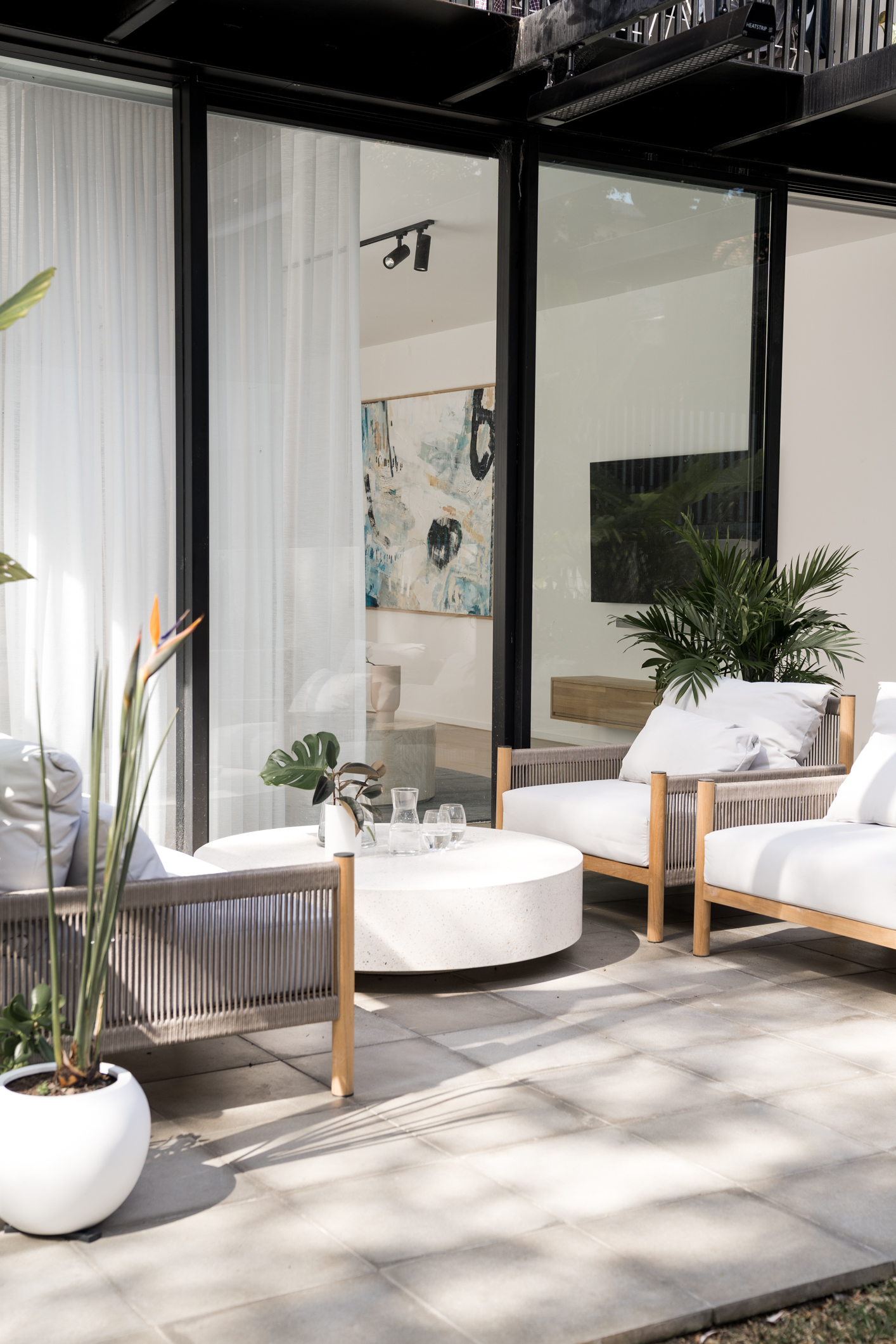 Bone Made Bondi Apartment Modern Coastal Outdoor Living