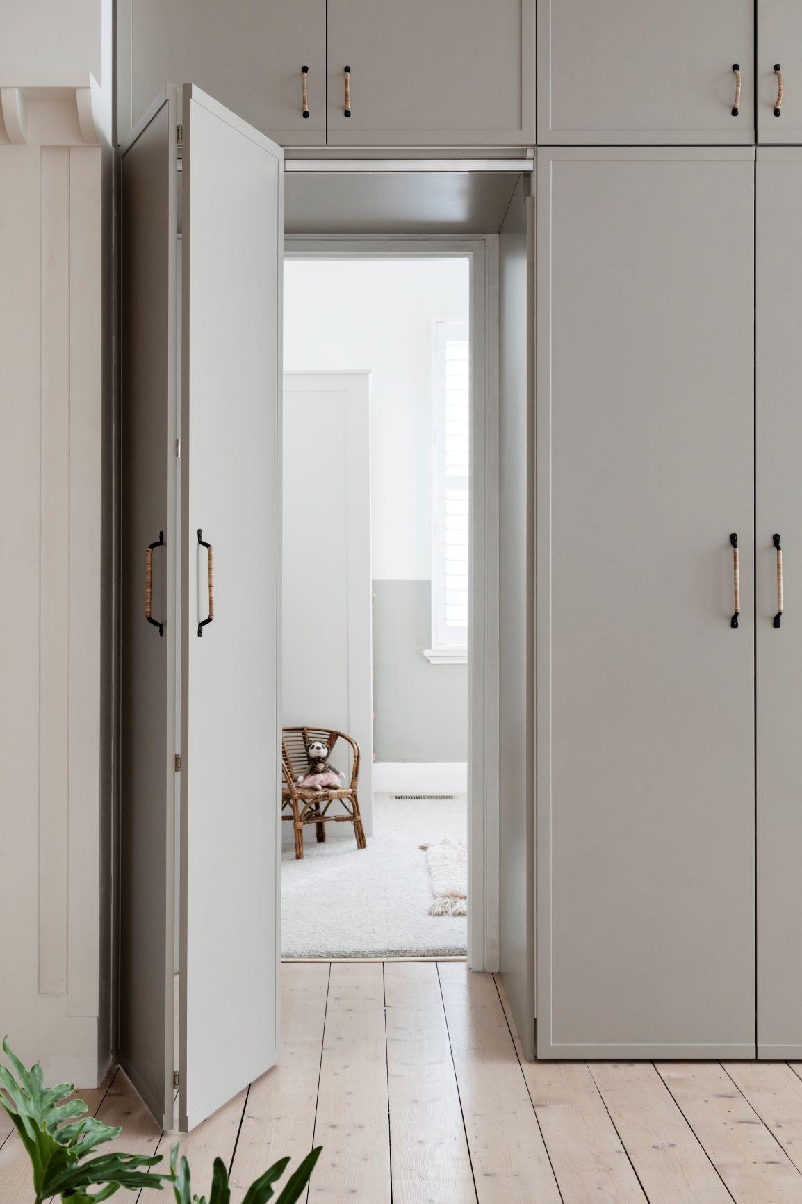 Alison Lewis Interiors Cecil Street Project Hidden Doorway