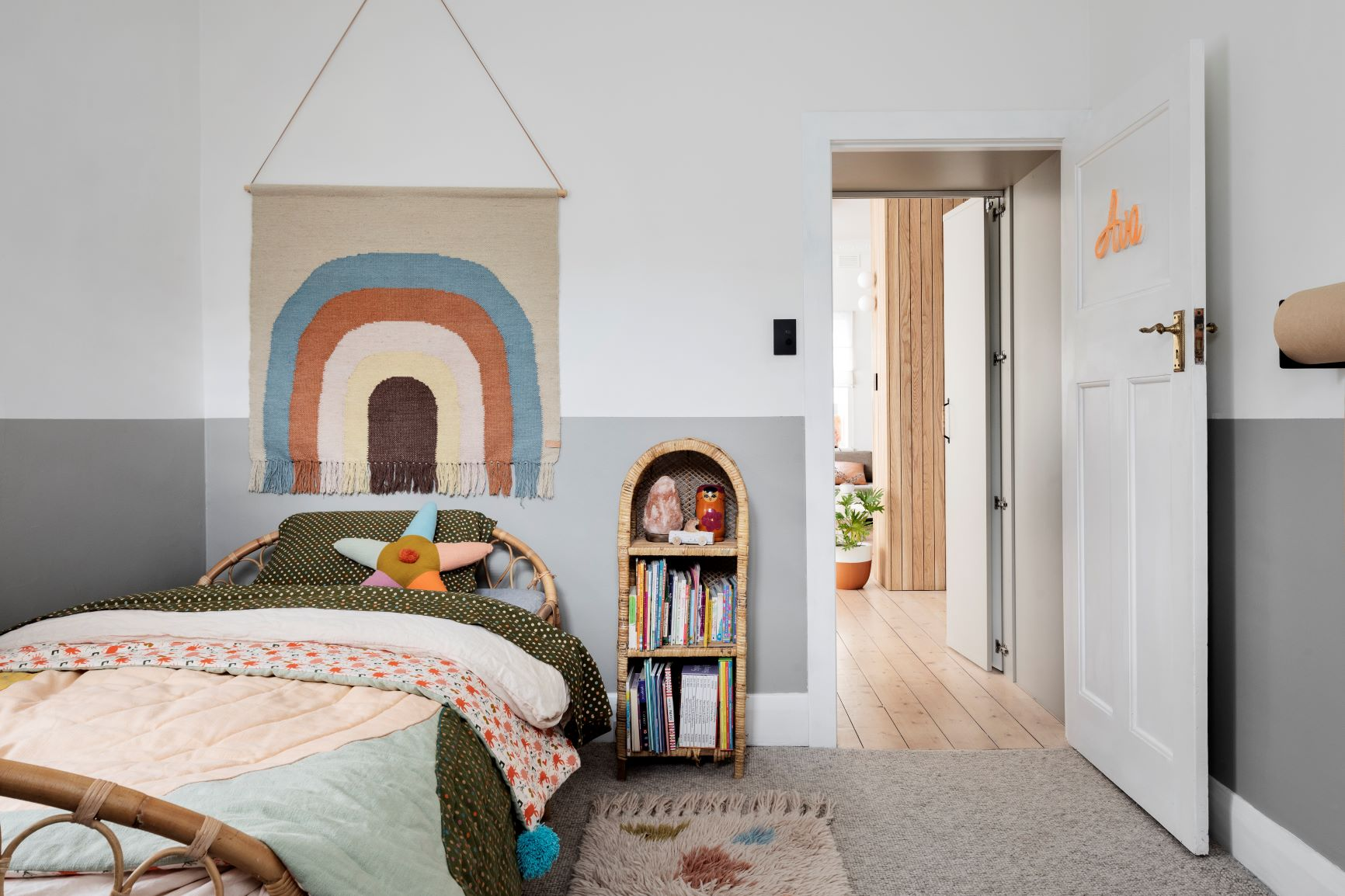 Alison Lewis Interiors Cecil Street Project Kids Bedroom