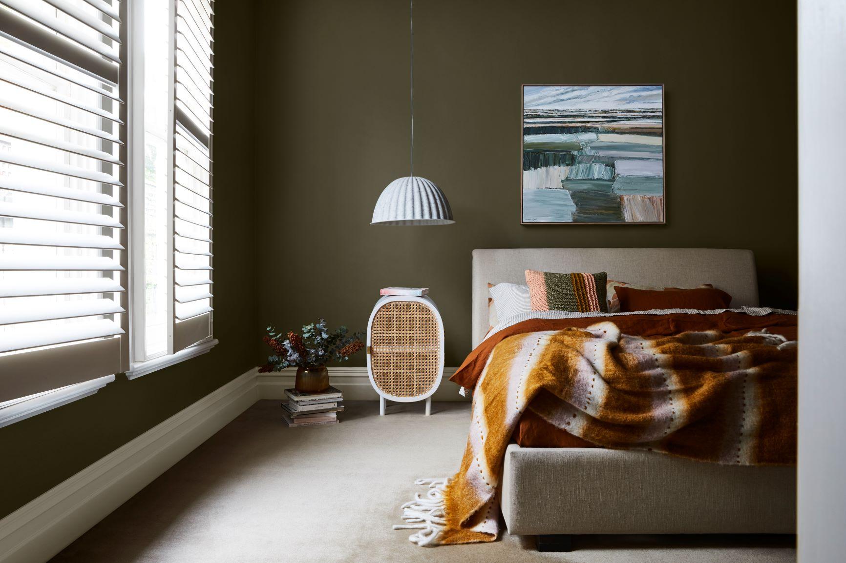 Dulux Colour Forecast Nourish Inspired Bedroom