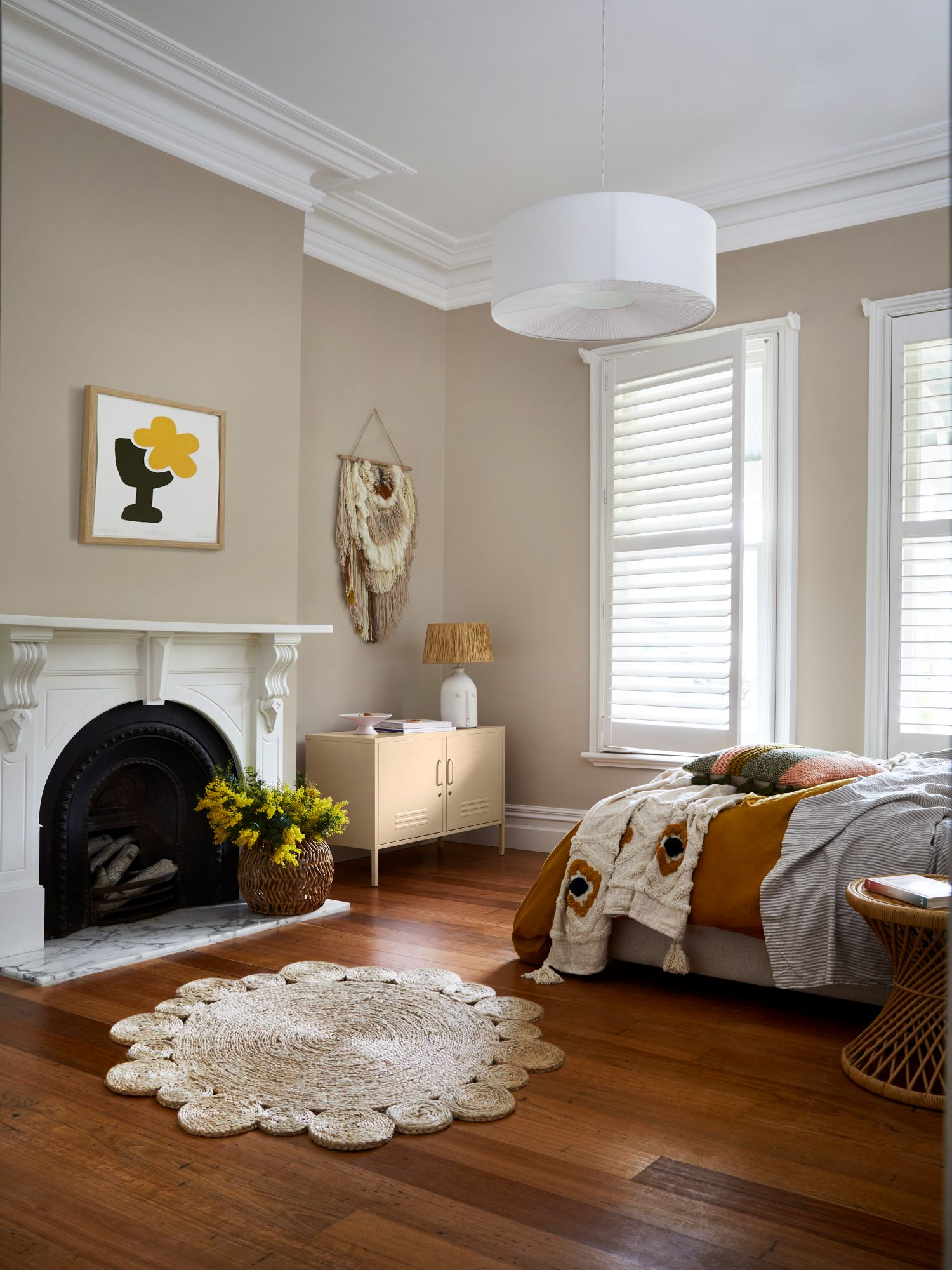 Dulux Colour Forecast Nourish Soothing Bedroom