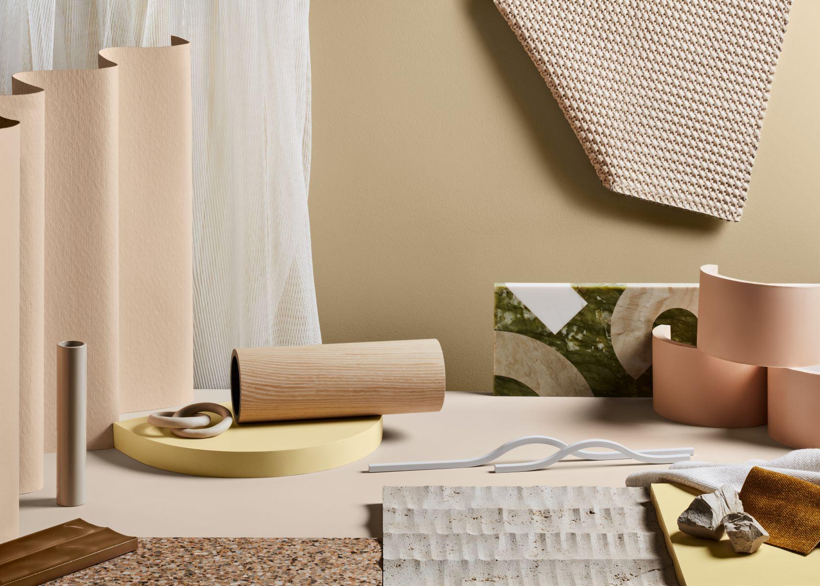 Dulux Colour Forecast Nourish Materials Board