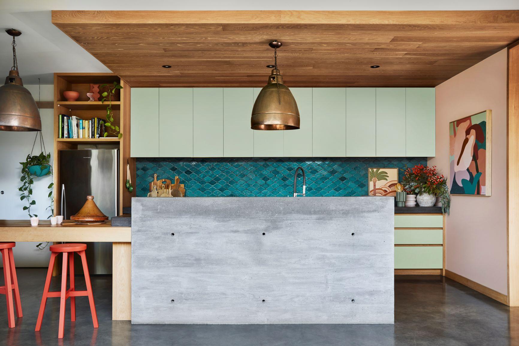 Dulux Colour Forecast Reset Retro Inspired Kitchen