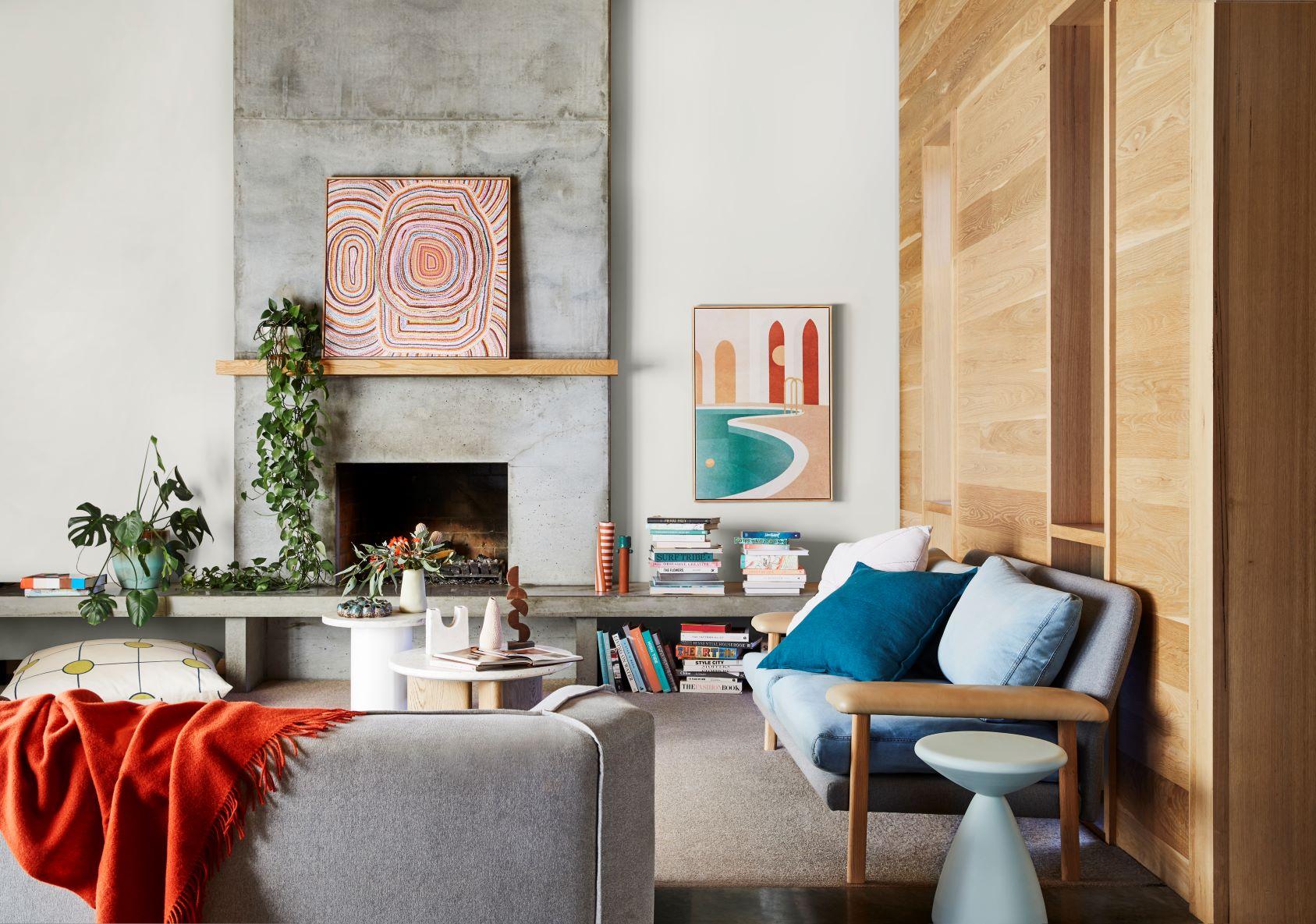 Dulux Colour Forecast Reset Living Room
