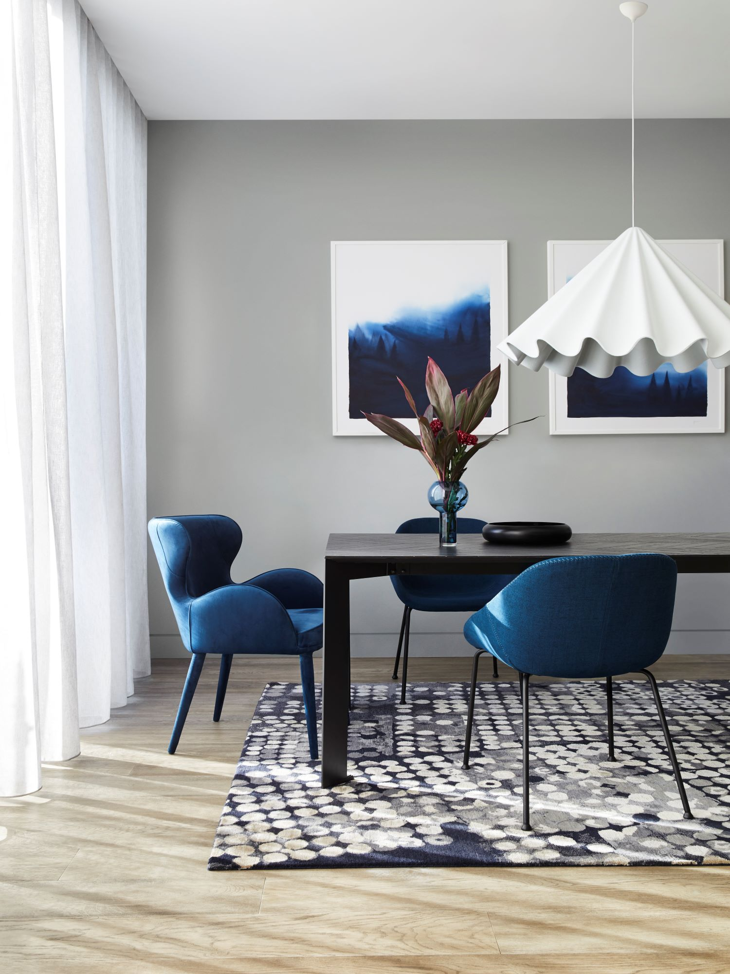 Dulux Colour Forecast Retreat Dining Room