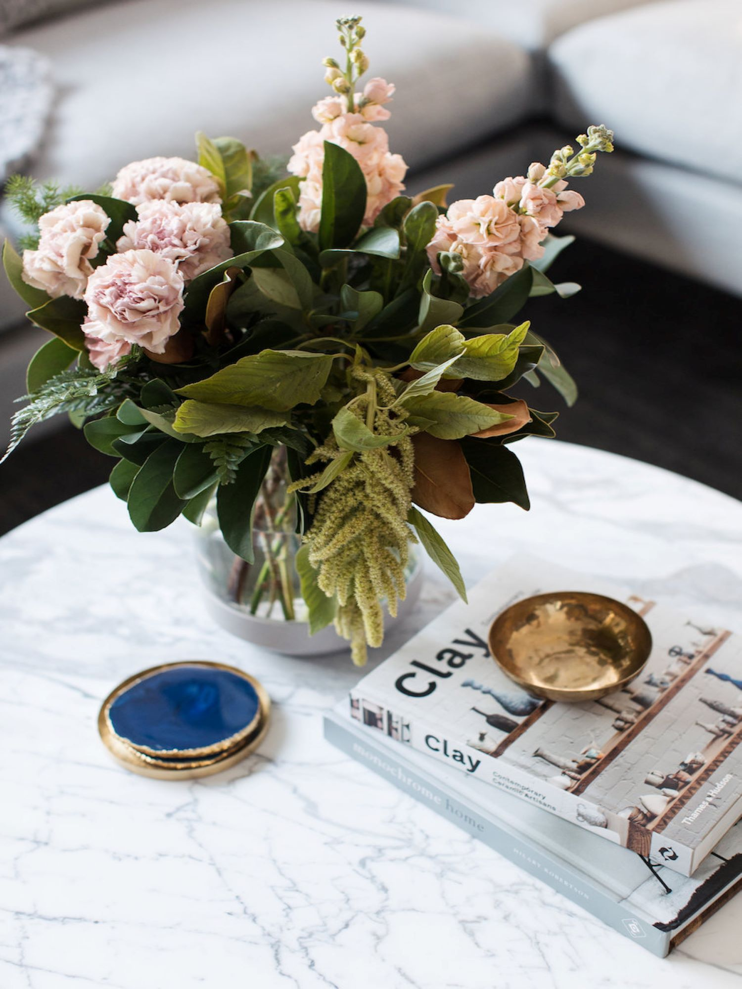 Interior Stylist Gina from Style Curator Coffee Table Styling