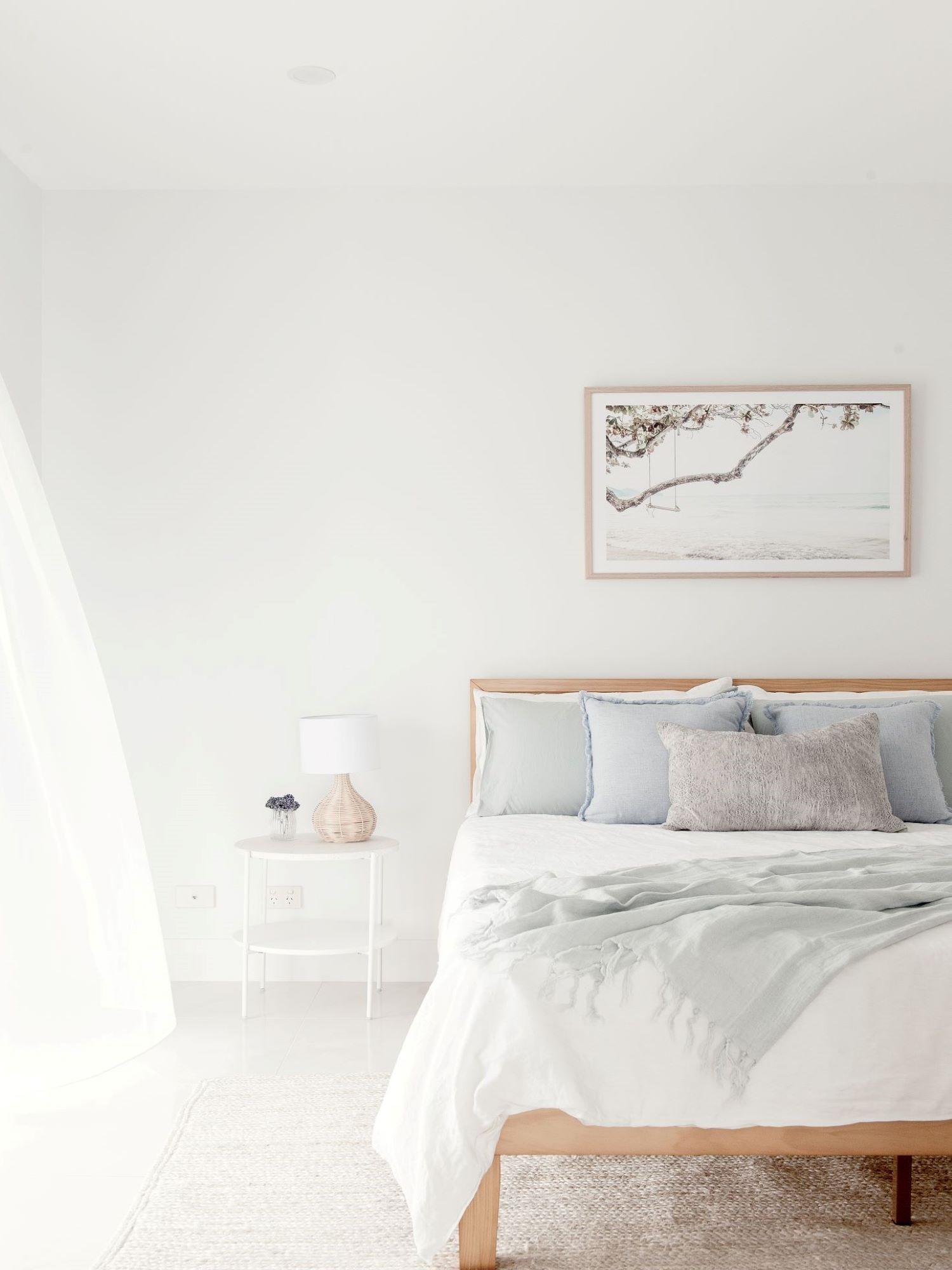 Coastal Bedroom by interior designer Michelle Canny