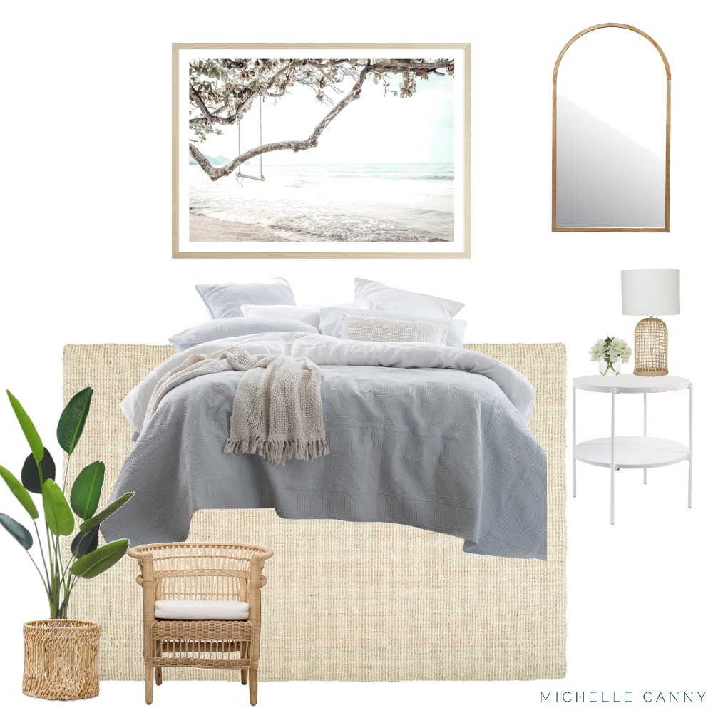 Coastal Bedroom Mood Board Style Sourcebook