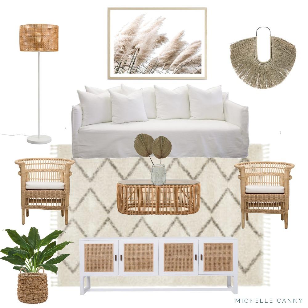 Coastal Living Room Mood Board Style Sourcebook
