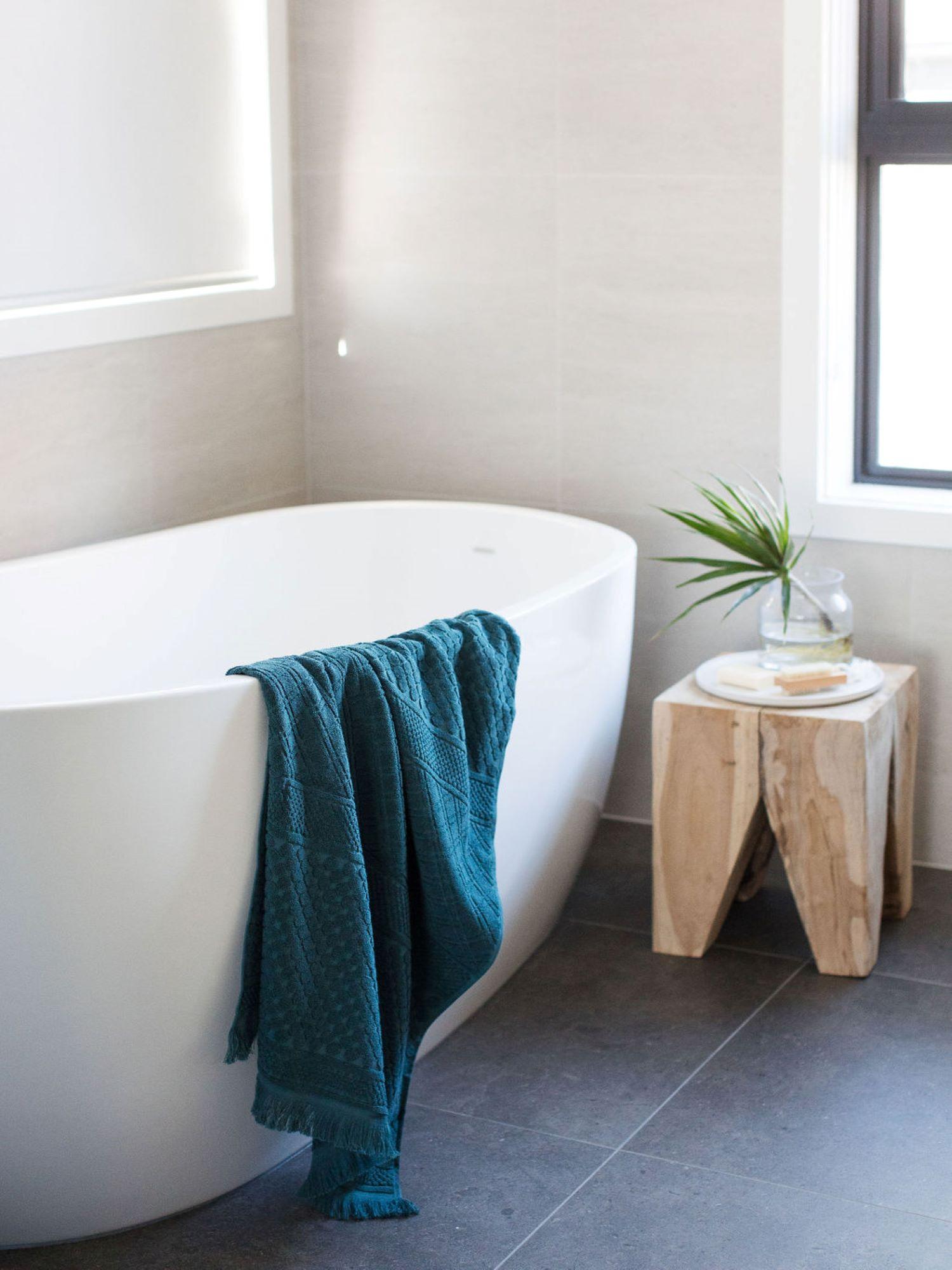 Contemporary Bathroom by interior designer Michelle Canny