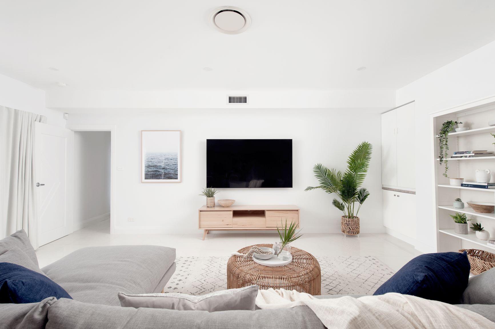 Contemporary Coastal Living Room