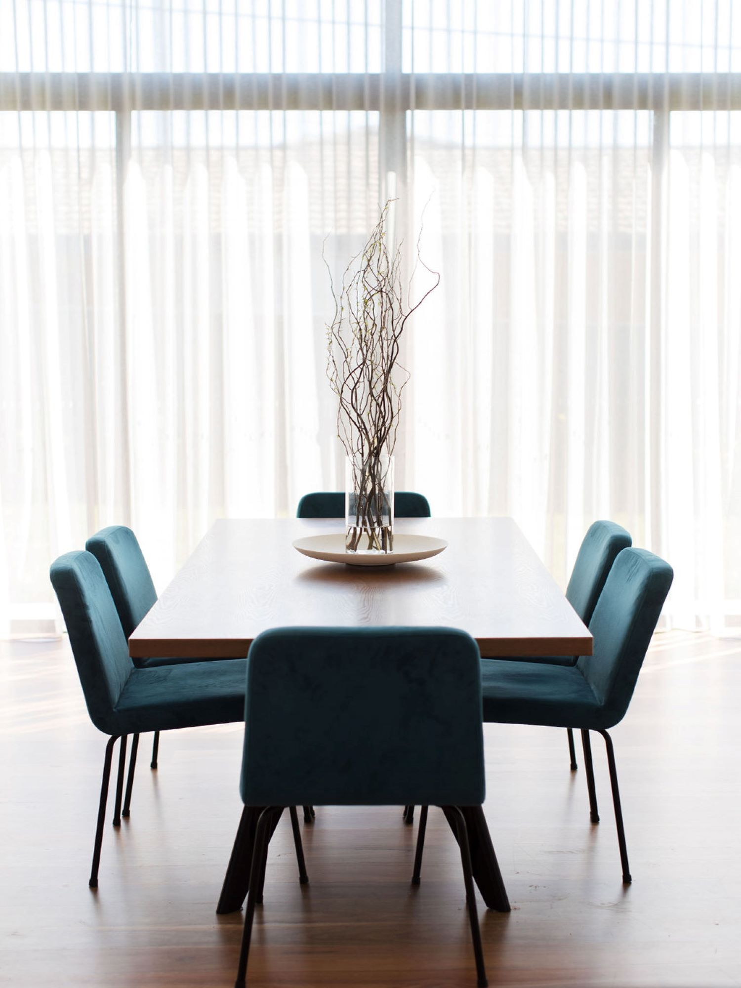 Contemporary Dining Room by interior designer Michelle Canny