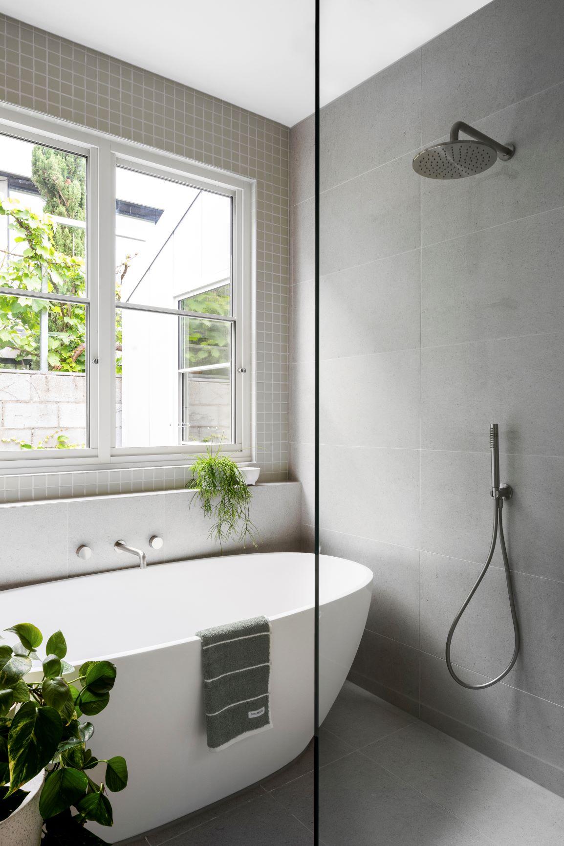 Robert Street Project - Modern House - Freestanding Bath