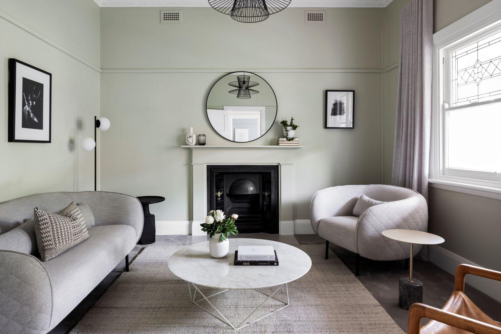 Robert Street Project - Modern House - Lounge Room