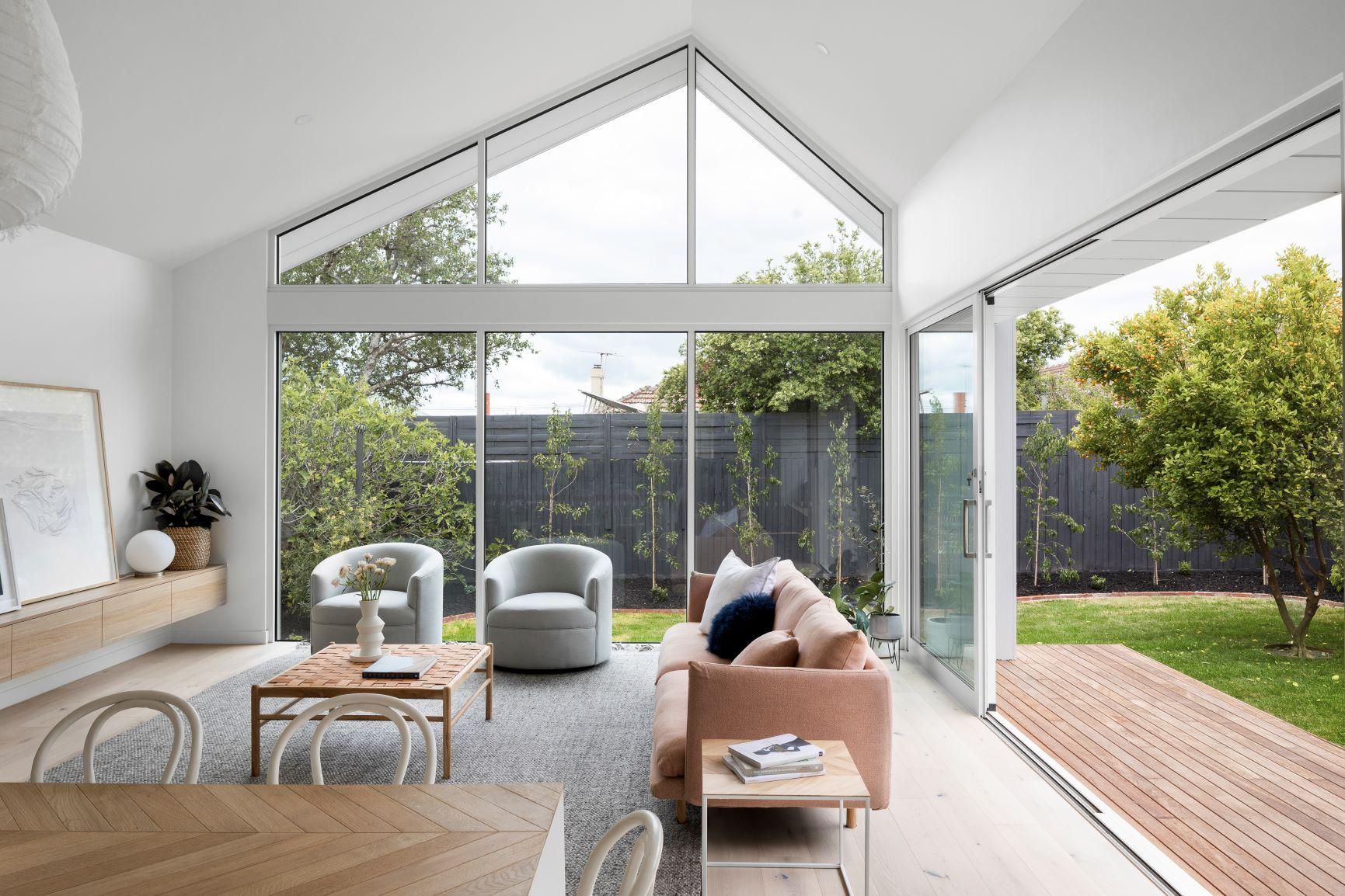 Robert Street Project - Modern House - Raked Ceiling