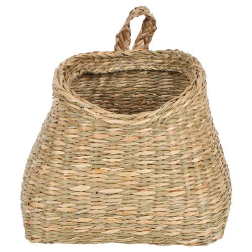 laundry-storage-hanging-seagrass-basket